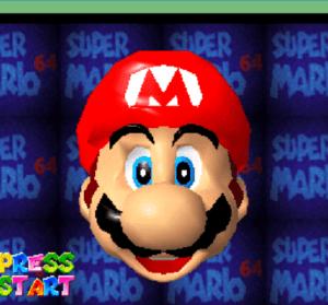 Super Mario 64 超級瑪利歐 64,免安裝任何 App 用 Chrome 就可玩