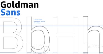 有針對數字優化的免費字體嗎?Goldman Sans 免費下載