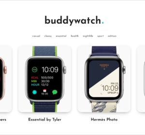BuddyWatch 豐富高品質 Apple Watch 第三方錶面,OS 7 更新後可正式使用