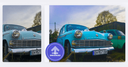 AI Image Enhancer 線上圖片優化,一鍵修圖最佳化照片品質,優化顏色與對比度