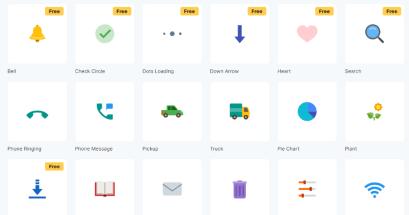 有讀取中 GIF 可以下載嗎?ICONS8 Animated icons 2.0 免費動態圖示