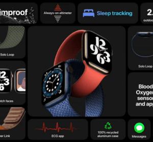 Apple Watch Series 6 / Apple Watch SE 發表會完整功能整理,支援血氧偵測功能