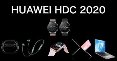 2020 HUAWEI HDC 有什麼重點?3 大技術 6 大新產品重點資訊整理