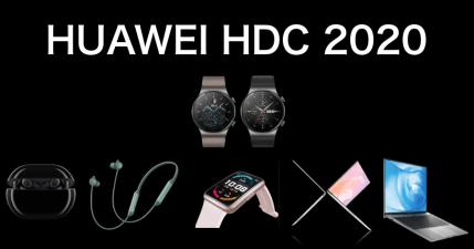 2020 華為開發者大會懶人包,6 款新品亮相:全新耳機 / 手錶 /  筆電