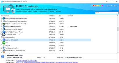 軟體移除不乾淨怎麼辦?HiBit Uninstaller 批次移除軟體工具下載