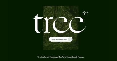 有上班時推薦聽的音樂嗎?Treefm 來自森林的大自然聲音