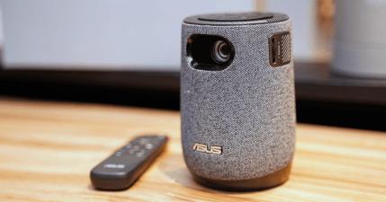 CES 2021 華碩發表 ASUS ZenBeam Latte 行動投影機,只需 3 公尺就能投射 120 吋大螢幕
