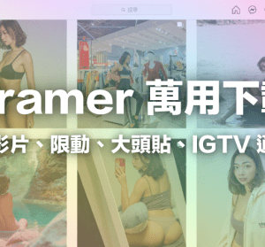 IG 照片下載 Ingramer 線上工具,安全免費、支援 IG 限動 / 影片 / 照片下載