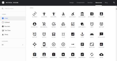 哪裡有 PPT 圖片素材可以下載?Material icons 超過 2000 款免費使用