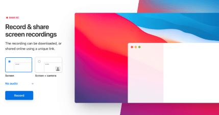 Shar.ec 線上螢幕錄影工具,支援麥克風錄製+人像錄製