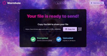 Mac 如何傳照片到 Android?Wormhole 無線檔案傳輸最大支援 10GB