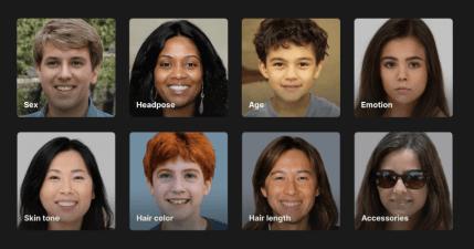 Face Generator 人臉產生器,從年齡到性別 / 種族到頭髮長度都能自訂,免費個人使用無肖像版權問題