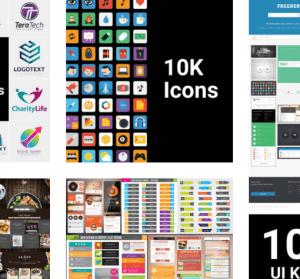 超過 5,000 個專業視覺設計樣板免費拿,Icon、Logo、網頁、名片等都有