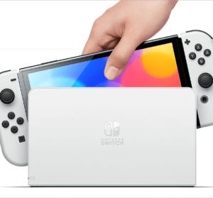 Switch OLED 夜襲發表,全新白色主機 7 吋大螢幕,10/8 上市售價新台幣 10,480 元