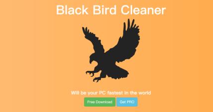 限時免費系統清理工具 Black Bird Cleaner PRO 終身免費序號