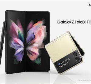 Galaxy Z Fold3 5G 及 Galaxy Z Flip3 5G 摺疊手機推出,售價換算約新台幣 27800 元起
