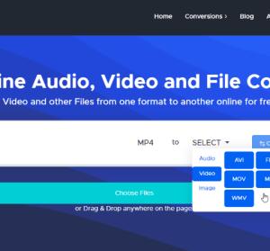 Convertr 線上轉檔工具,支援影音、圖片、PDF 等格式轉檔
