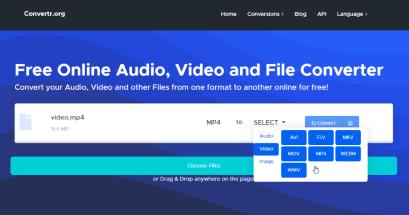 有 MP4 轉 MP3 免安裝軟體嗎?Convertr 線上免費轉檔工具