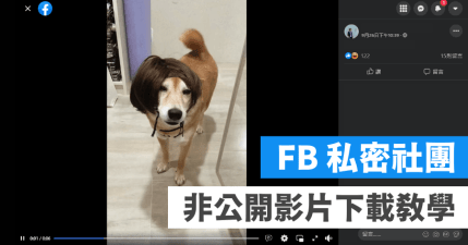 Facebook 私人影片下載教學,輸入 mbasic 就可以下載(Android / iOS 適用)