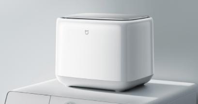 小米洗衣機評價好嗎?超輕巧體積可洗 1 公斤私人衣物