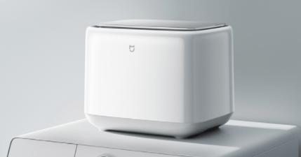 小米米家洗衣機 mini 可容納 1KG 容量,貼身內衣褲不用與髒衣混著洗