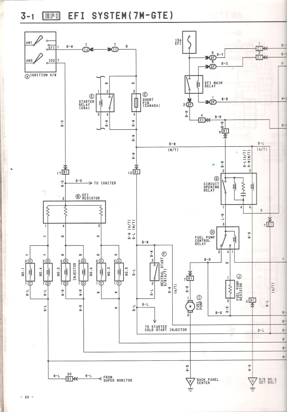 Engine Wiring Diagram for an 88 MKIII? Does this exist