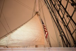 Nightwatch - Sail and rigging - Star of India 2015