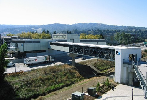 Pleasanton BART station 2