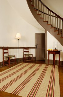 from The Weavery~ a Shaker rug in a Kentucky home