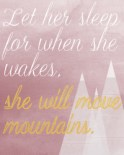 Let her sleep Es