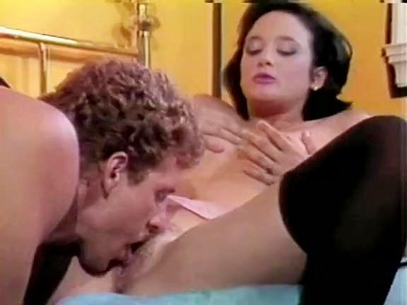 Melissa Melendez, Scott Irish in hot brunette in nylon stockings from porn classic
