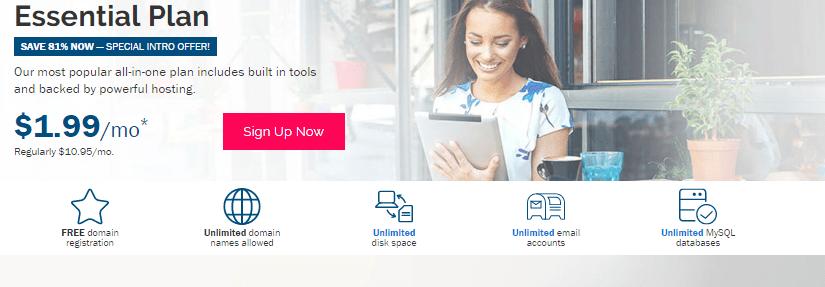 iPage Plans Hosting