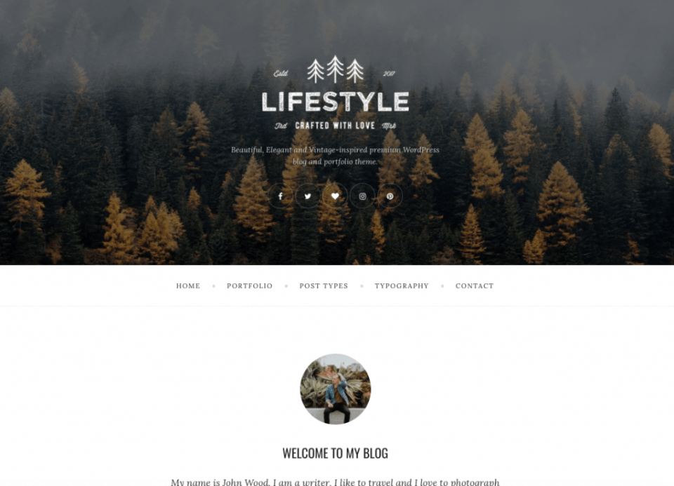 Lifestyle Custom WordPress