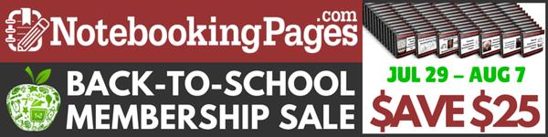 Back-to-School Membership Sale