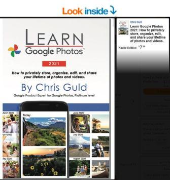 Learn Google Photos 2021 Kindle
