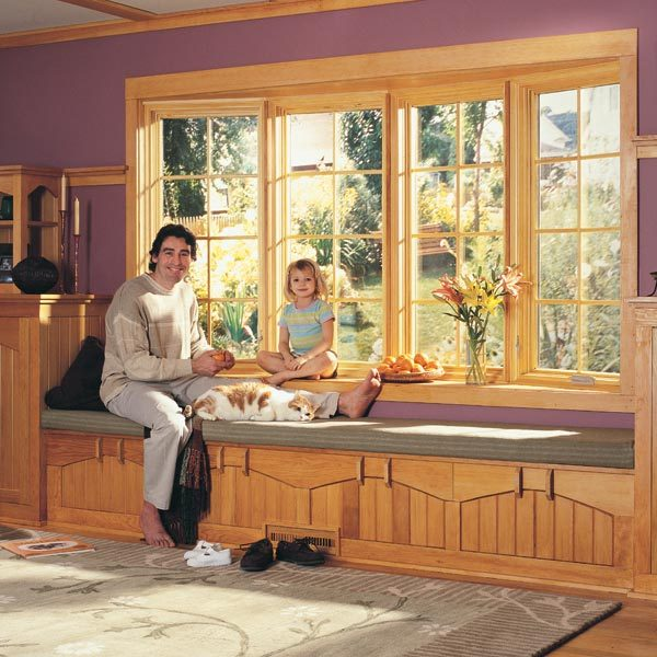 How to Install a Bow Window  The Family Handyman