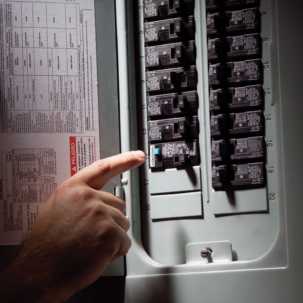 How To Reset A Tripped Fuse In A Circuit Breaker Plumbing