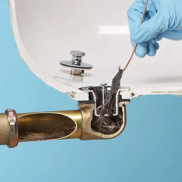 Unclog A Bathtub Drain Without Chemicals The Family Handyman