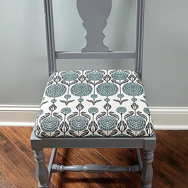 reupholster dining chair antique rocking with carved face how to a   the family handyman