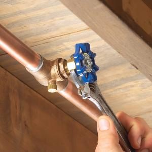 Fixing a Water-Shutoff Valve Leak