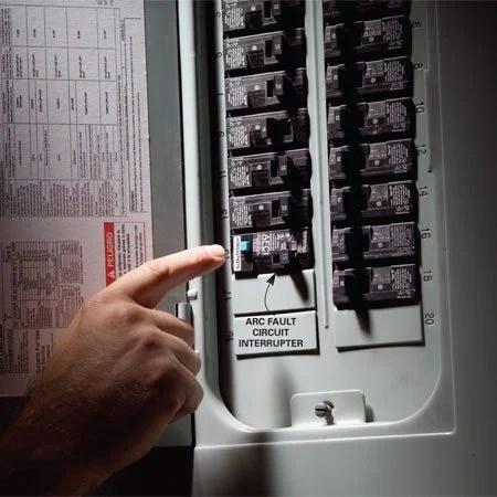 220v plug wiring diagram 1964 chevy nova fix a sensitive arc fault circuit breaker | the family handyman
