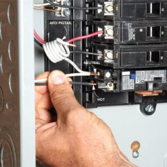 How To Wire A Subpanel Diagram Microphone Wiring Diagrams Breaker Box Safety: Connect New Circuit   The Family Handyman