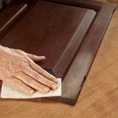 Degreaser For Wood Kitchen Cabinets Hinges Tips Using Water Based Varnish | The Family Handyman