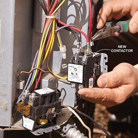 Rheem Electric Water Heater Thermostat Wiring Diy Air Conditioner Repair The Family Handyman