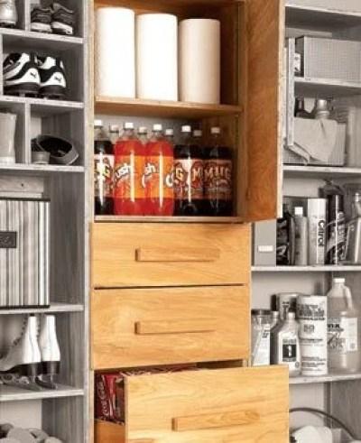 Garage Pantry Cabinet