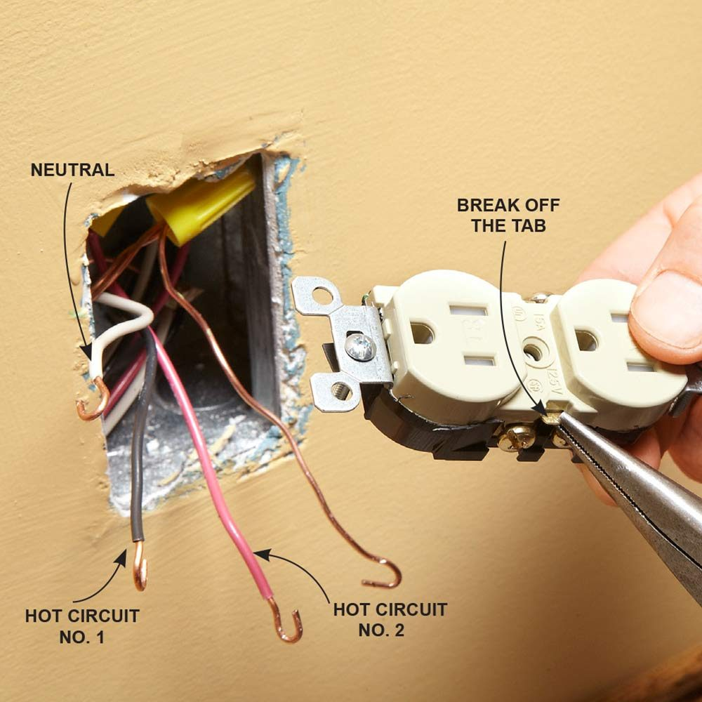 Wiring An Outlet Off A Switch