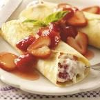 Strawberry Mascarpone Crepes Photo