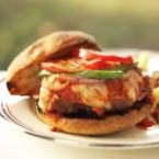 Grilled Italian Meatball Burgers Photo