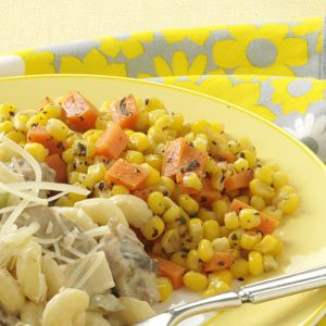 Herbed Corn and Carrots Recipe