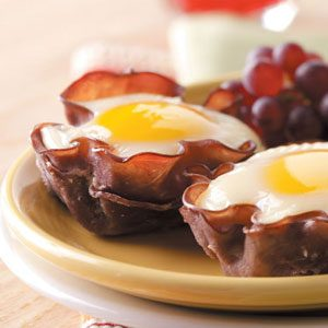 Eggs in Muffin Cups Recipe